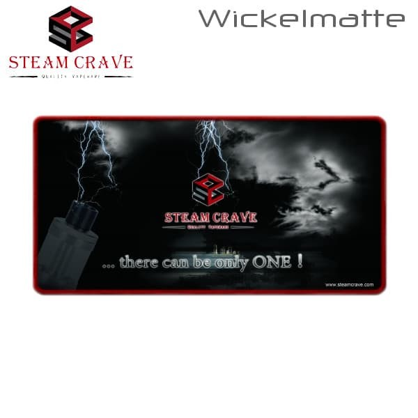 Steam Crave Wickelmatte