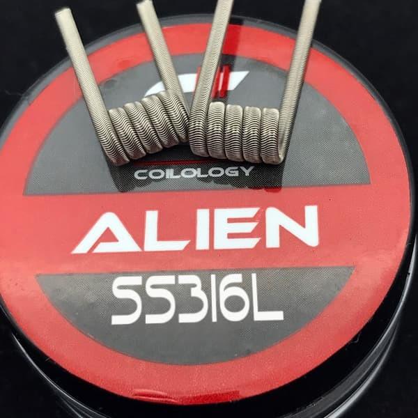 Coilology Alien SS316L - 2 Stück