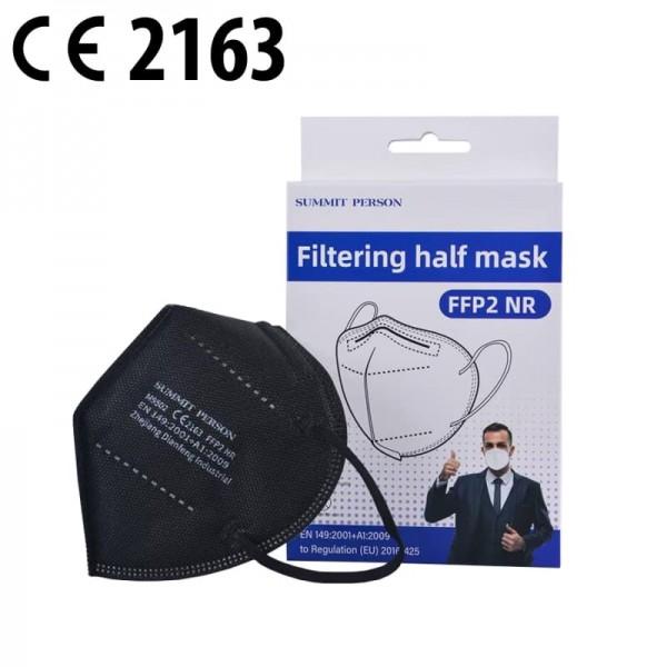 FFP2 NR Schutzmaske schwarz