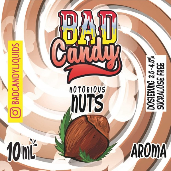 Bad Candy Vape Aroma - 10ml - Notorious Nuts