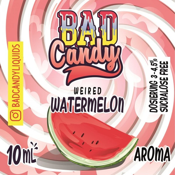 Bad Candy Vape Aroma - 10ml - Weired Watermelon