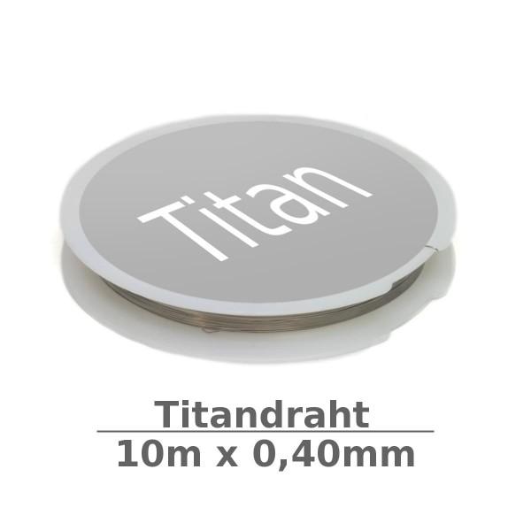 Titandraht 0,40mm 10m