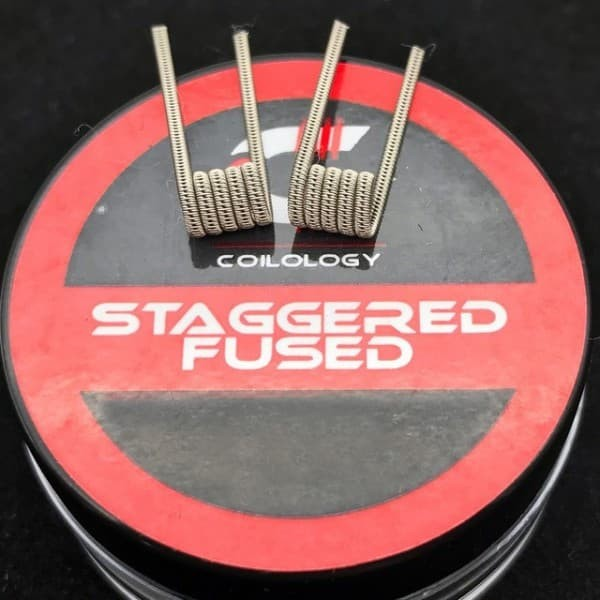 Coilology Staggered Fused Clapton - 2 Stück
