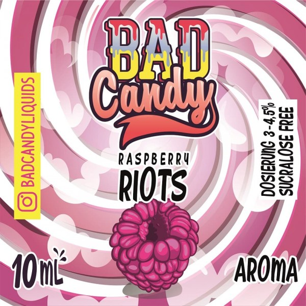 Bad Candy Vape Aroma - 10ml - Raspberry Riots