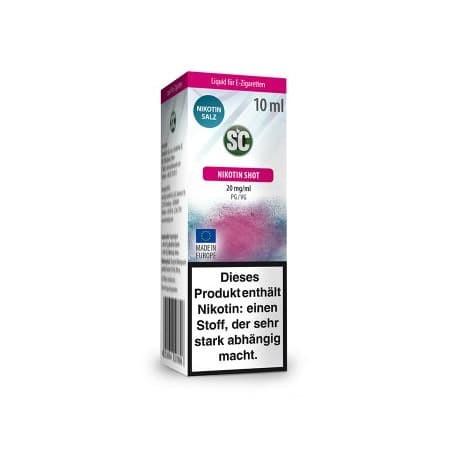 SC Nikotinsalz Shots 10ml 20mg