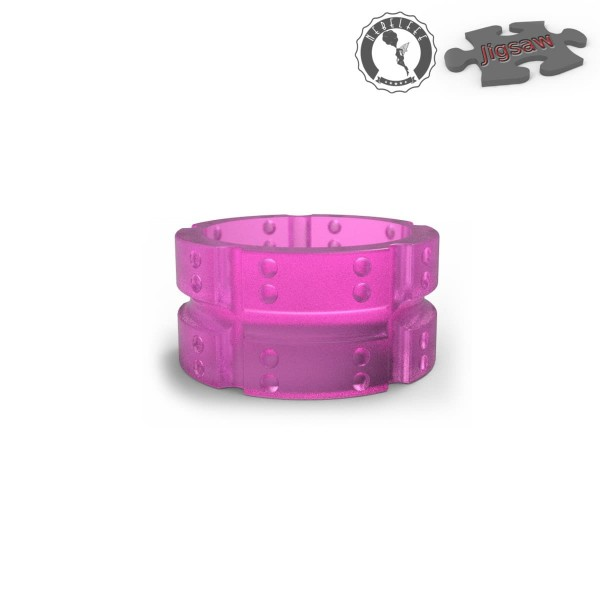 Nebelfee Jigsaw Drip Tip Shield Acryl