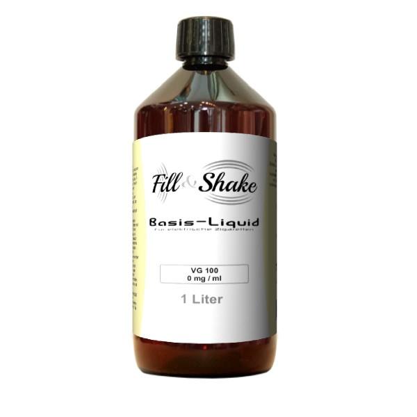 Fill & Shake Basis Liquid 100% VG - 1000ml Ohne Nikotin