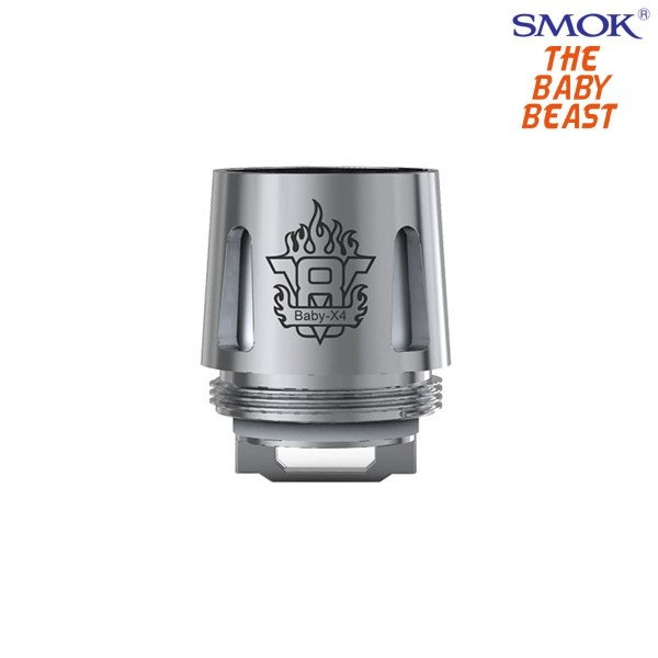 Smok V8 Baby-X4 Coils 5er Pack