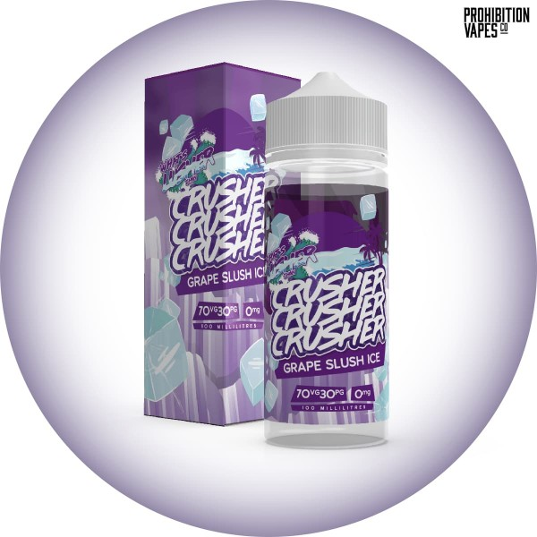 Crusher Liquid Grape Slush Ice 100ml
