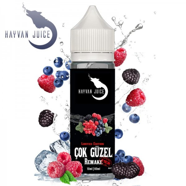 Hayvan Juice 10ml Aroma Cok Güzel Remake 31er