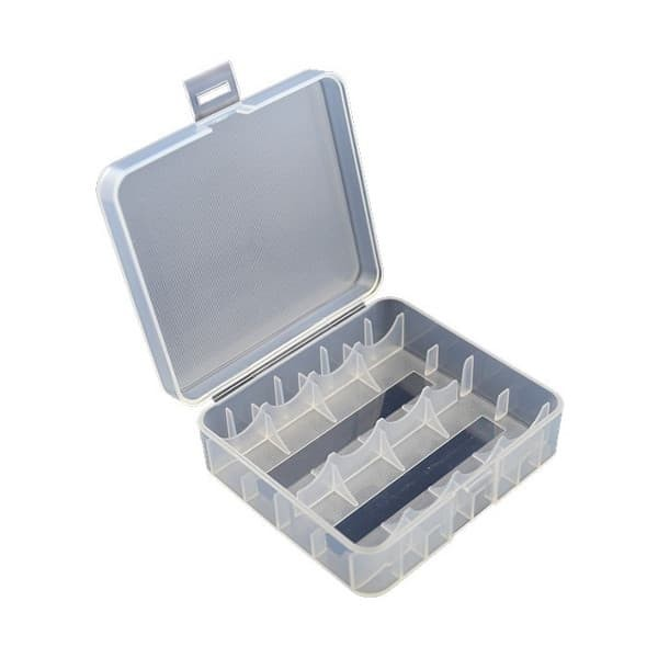 Box für 2x 26650er oder 4x 18650er Akkus