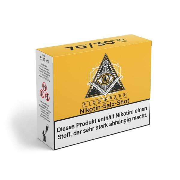 Fids-Paff Nikotinsalz Shots 70/30 20mg 5x10ml