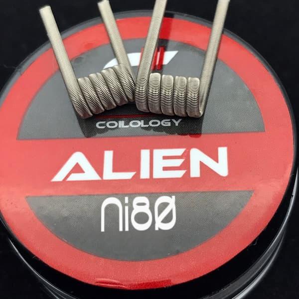 Coilology Alien Ni80 - 2 Stück