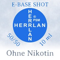 Herrlan E-Base Shot 50/50 10ml - 00 mg/ml (Ohne Nikotin)