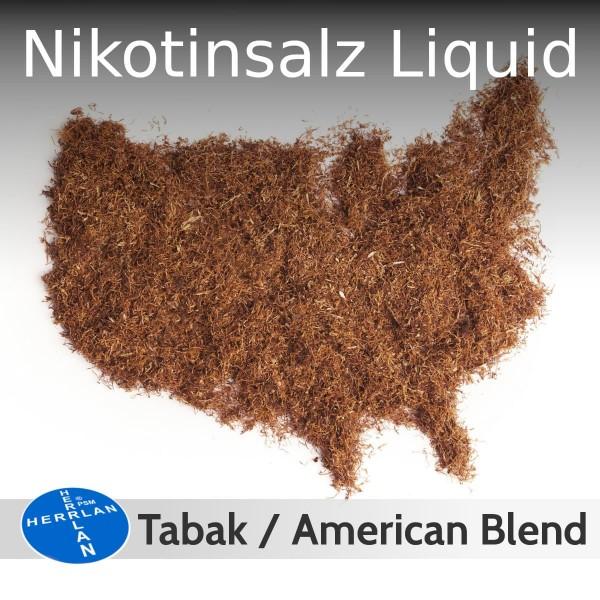 Herrlan NicSalt Liquid 10ml Tabak American Blend