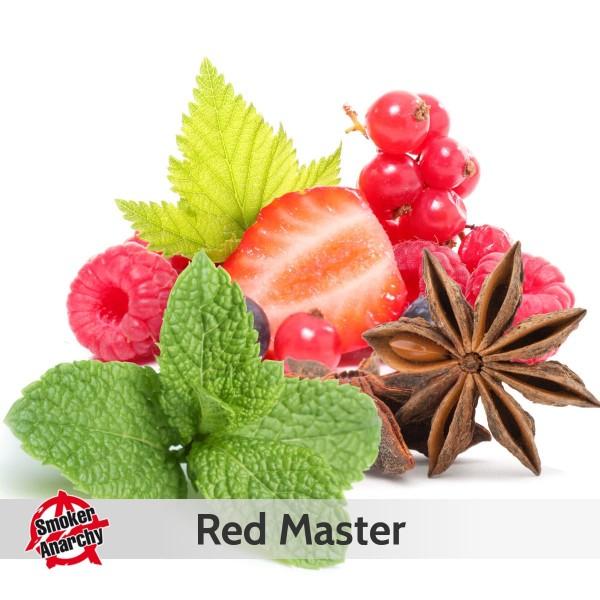 Smoker Anarchy Liquid 10ml Red Master
