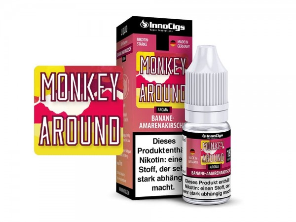 InnoCigs Liquid 10ml Monkey Around