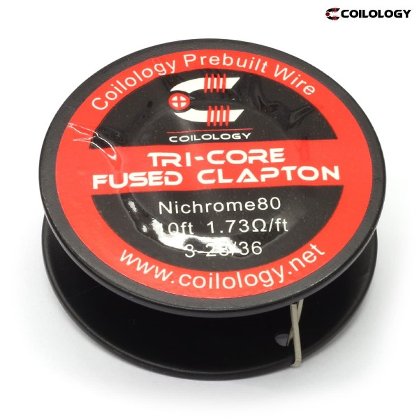 Coilology Ni80 Tri-Core Fused Clapton 3m