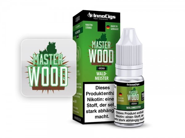 InnoCigs Liquid 10ml Master Wood