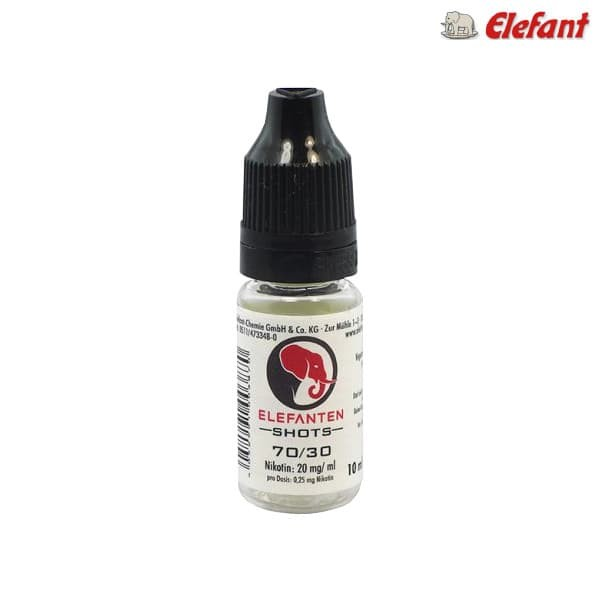 Elefant Basisliquid 70/30 10ml - 20 mg/ml