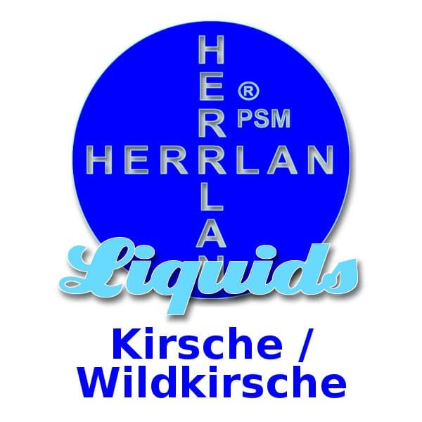 Herrlan Liquid 10ml Kirsche / Wildkirsche