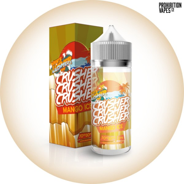 Crusher Liquid Mango Ice 100ml