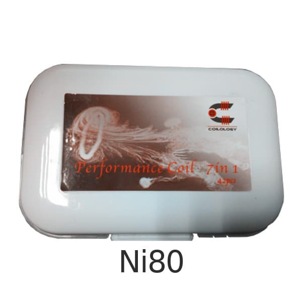 Coilology Performance Coils 7-in-1 Ni80 Box