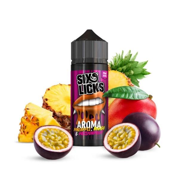 Six Licks Pineapple Mango Passionfruit 20ml Aroma