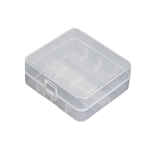 Box für 2x 26650er Akkus